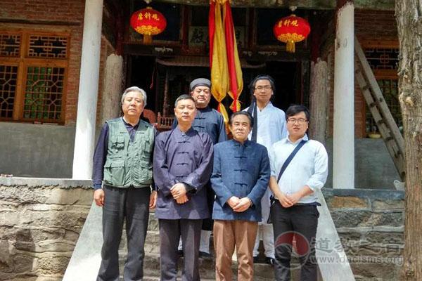 陕西西安市道协会长刘世天一行走访长安区部分宫观