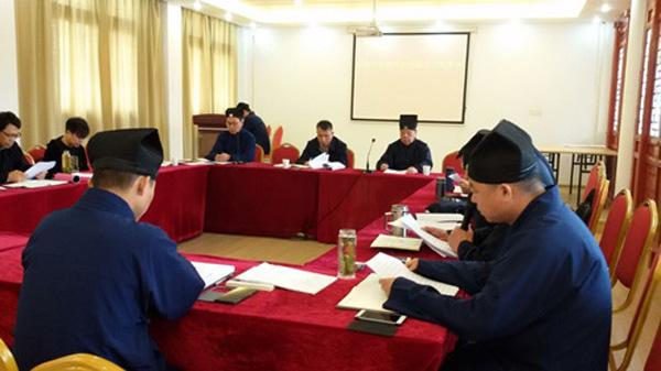 江苏南通市道协学习全国宗教工作会议精神