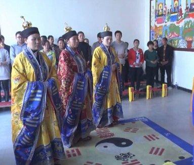 河北固安马庄玉皇观清明节超度法会(视频)