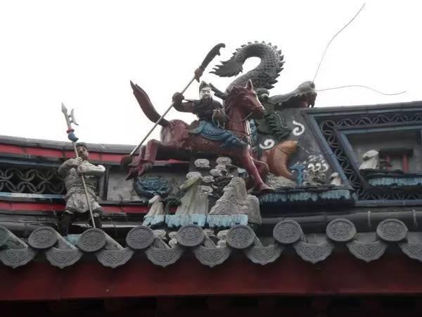 上海青浦区章堰城隍庙