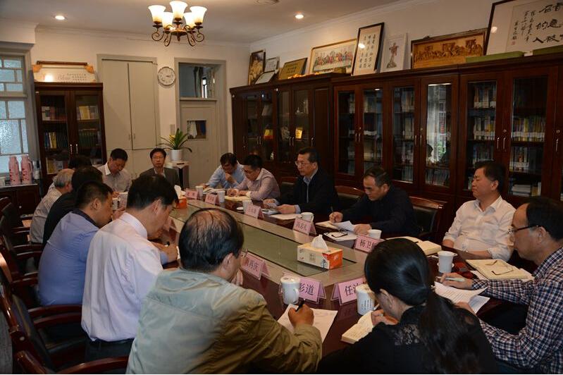浙江省统战部领导赴省级五大宗教团体调研