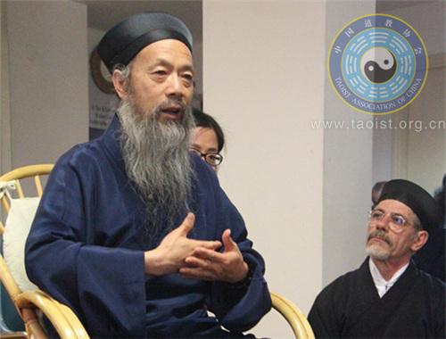 中国道教协会代表团赴意参加道教节活动