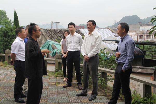 浙江温州市民宗局领导到白云道观指导调研