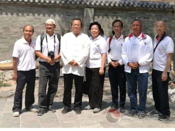 马来西亚道文化爱好者参访太原新沟三清观