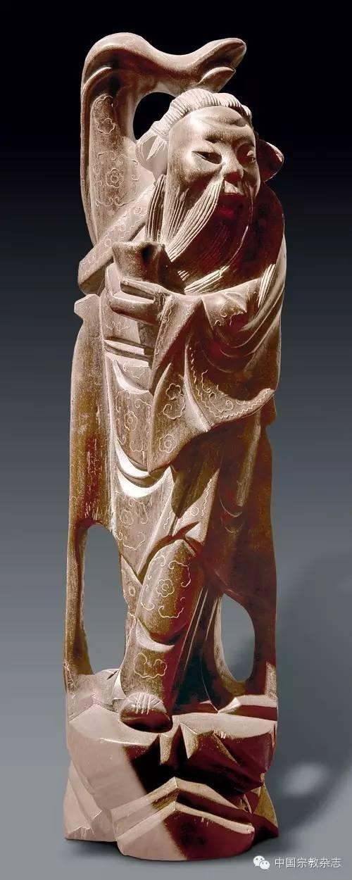 惟妙惟肖 大道应化——清代紫檀木雕嵌银丝八仙像欣赏