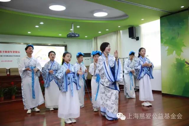 """上海慈爱基金会举行回民小学庆""""六一""""活动"""