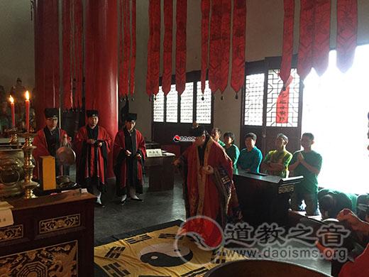 马来西亚沙巴州茅山道教协会到江苏镇江参访