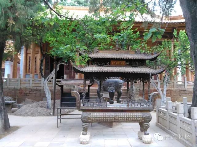 云南省昆明市龙泉观修缮工作进入收尾阶段