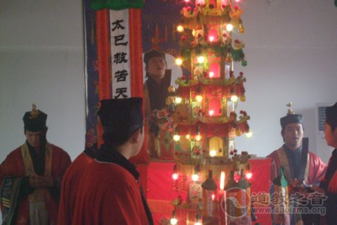 镇江润州道院举行盐城龙卷风袭击事件超度法会