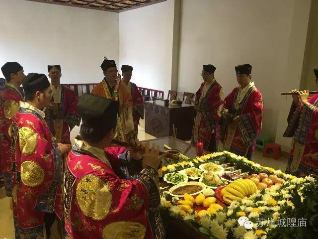 江苏苏州城隍庙为盐城罹难同胞举行超度法会