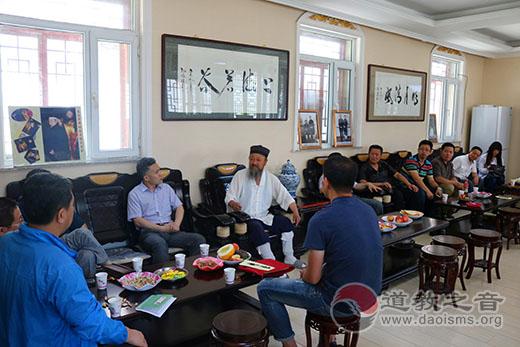 吉林省吉林市道教书画院第二次班子会议召开