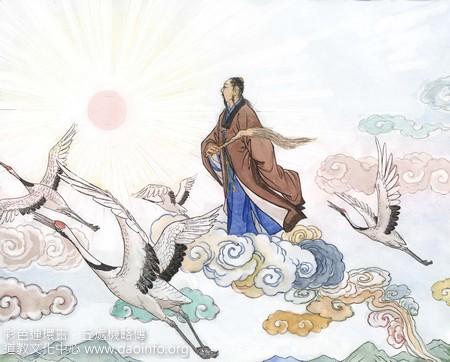《彩色连环画·邱处机略传》(8)