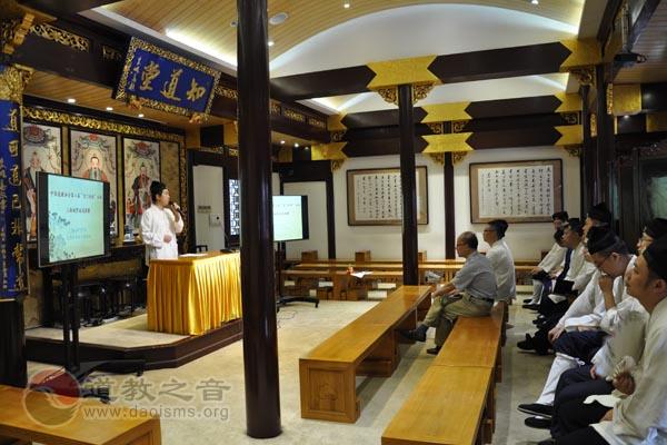 """上海城隍庙举行""""玄门讲经""""活动选拔赛"""
