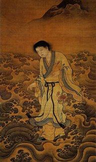 海蟾刘祖,因垒叠十卵不坠而悟道尊为财神