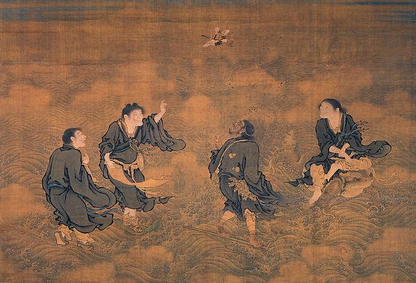 腊月廿四海蟾刘祖圣诞,以垒垒叠十卵不坠而悟道尊为财神