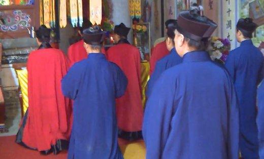 陕西兴平黄山宫冠巾法会·天地祝将科(上)