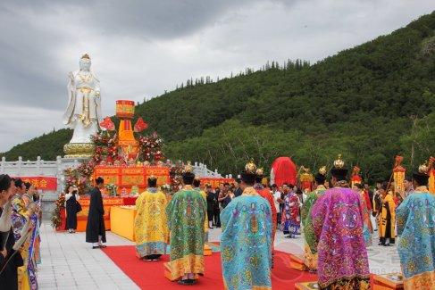 吉林长白山药王庙慈航真人神像落成庆典暨开光法会(图集)