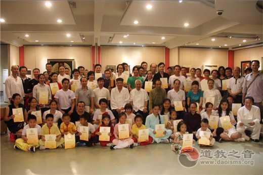 广州纯阳观太极拳馆参加广东传统武术锦标赛
