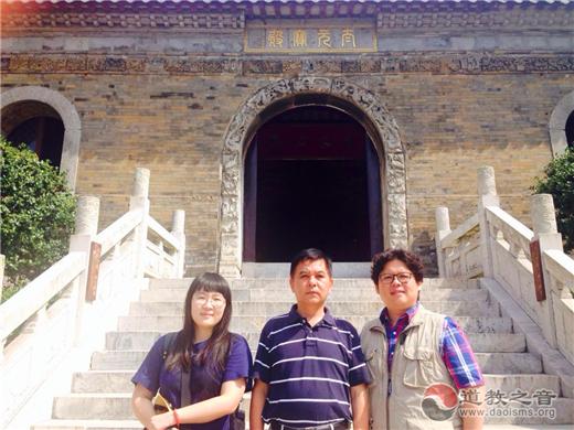 台湾政治大学教授林振源一行赴江苏镇江参访