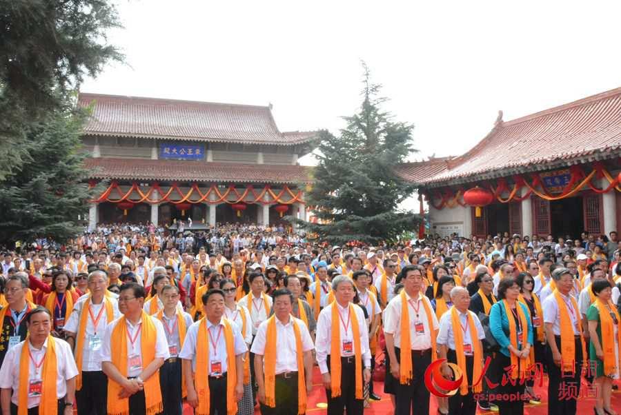 甘肃泾川举行第四届海峡两岸共祭西王母大典