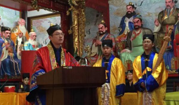 吉宏忠道长:道教法服与坛场威仪