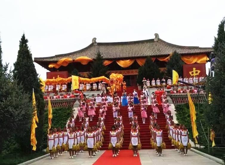 丙申年世界华人涿鹿共祭中华三祖大典举行