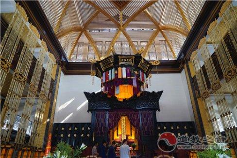 巍巍崇禧万寿宫,集授箓、夏令营、婚礼等为一体的新型文化道观
