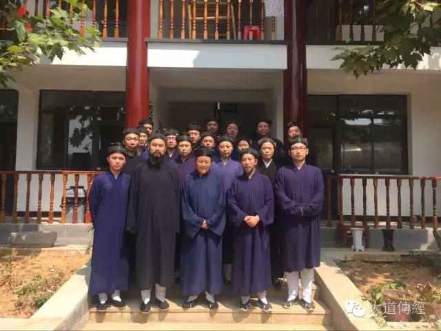 湖北武汉大道观经戒威仪科范学习班正式开学