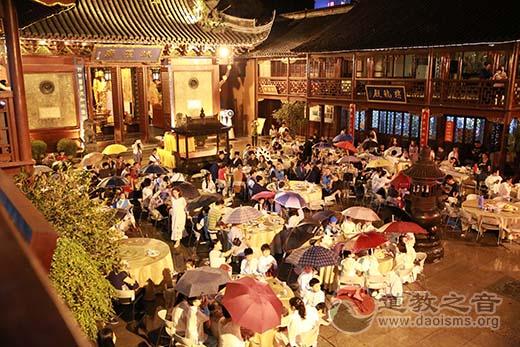 """上海城隍庙慈爱功德会举行""""中秋·回家""""晚会"""