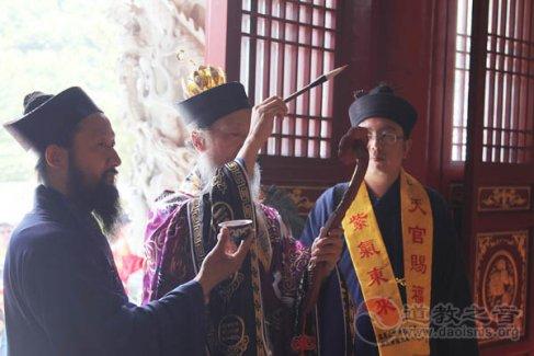 辽宁丹东凤凰山紫阳观神像开光法会欣赏(视频)