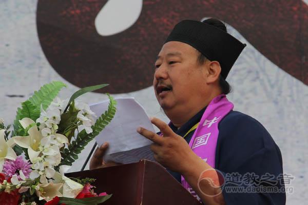 首届中国(吉林市)道教文化艺术周在玄帝观开幕