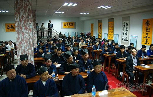 第八届玄门巡回讲经在甘肃兰州白云观举行