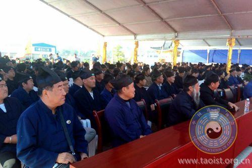 中国道协宣讲团在宁夏银川威仪堡玉皇庙讲经