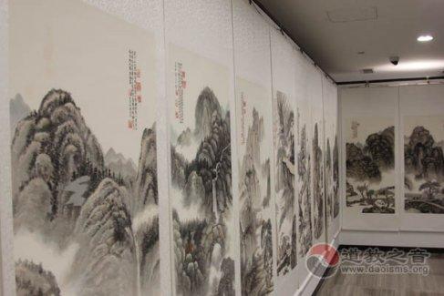 """郭三立""""清心""""图画展在京举行"""