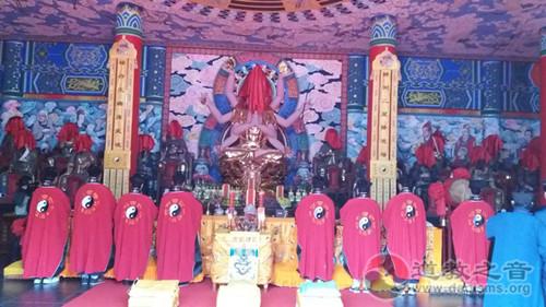 陕西骊山老母宫开放30周年暨甲子殿神像开光庆典