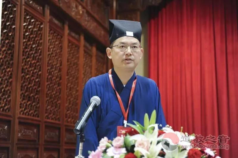 吉宏忠道长:培养人才 开创上海道教新局面