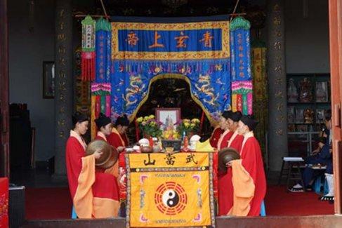 湖南南岳紫竹林举行青玄济炼法会(视频)