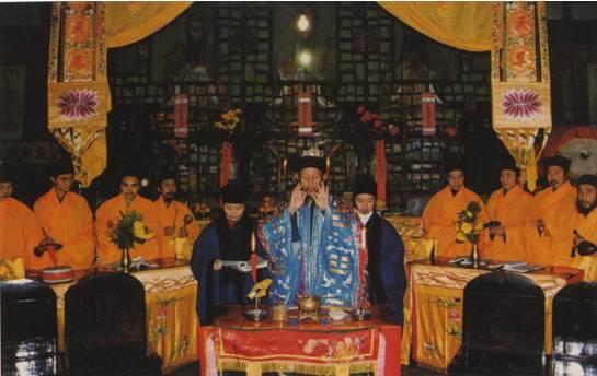 1995年青城山天师洞乙亥坛