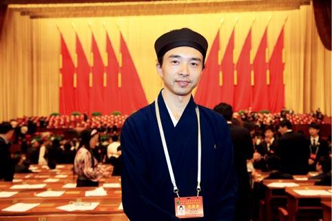 中国道教协会副秘书长、重庆市道教协会会长邓信德道长