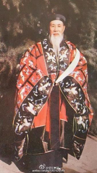 1989年北京白云观解放后第一次传戒大师简介