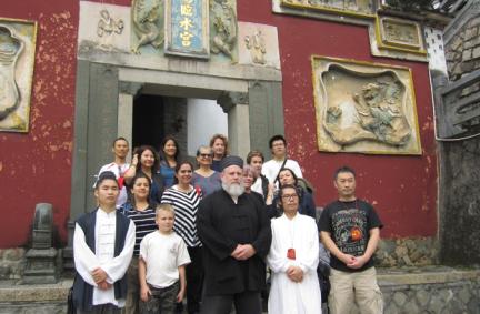 美国道教协会一行到福建部分宫观参访