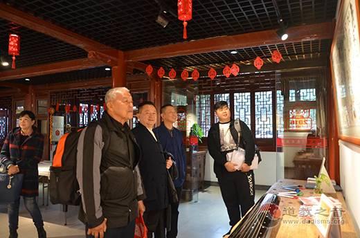 马来西亚道教总会访问团参观访问上海白云观