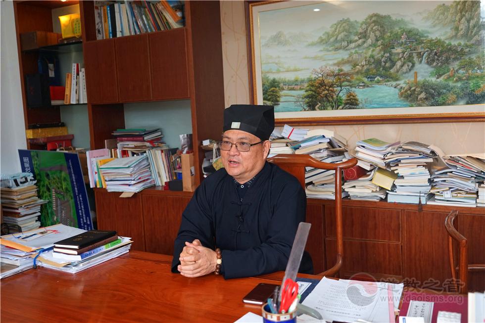 杨世华道长:道教界有条件的宫观要举行皈依传度