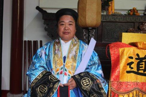 辽宁省道教协会副会长、沈阳蓬瀛宫监院唐嗣岳道长