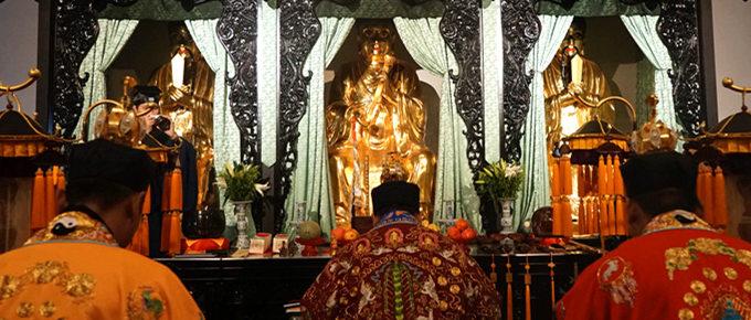 茅山道院2016年首期上清宗壇傳度·洞玄靈寶傳度齋朝儀(