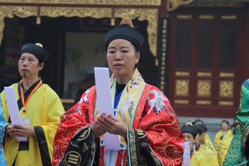 四川省道协常务理事、长春观传戒纠察大师高至文道长