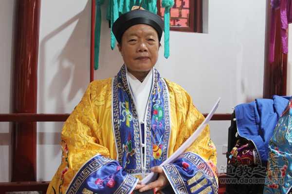 四川省道教协会副会长、新津老子庙住持张至容道长