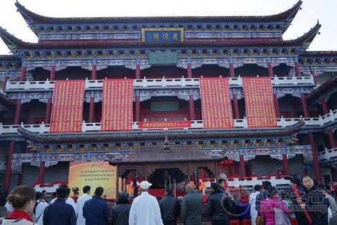 湖北省咸宁太乙观重建二十周年庆典隆重举行
