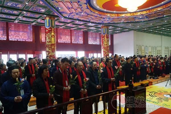 湖北咸宁太乙观重建20周年庆典暨神像开光祈福法会举行