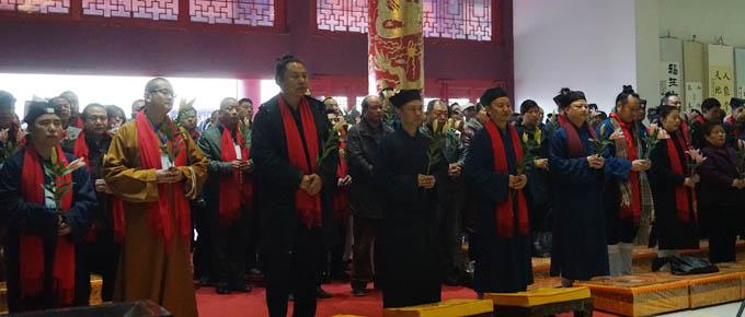 湖北咸寧太乙觀救苦天尊圣誕暨神像開光祈福法會